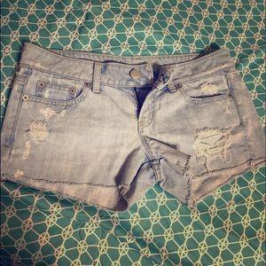 American Eagle cutoff shorts sz 4 EUC
